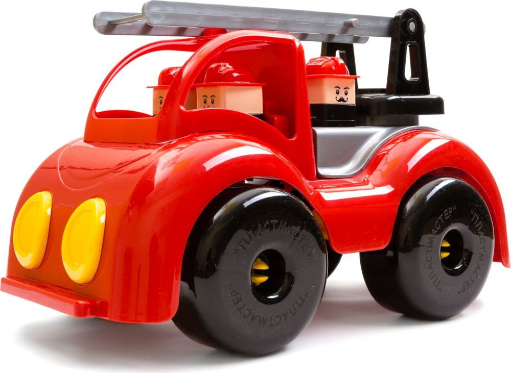 Пластмастер Пожарная машина Крепыш