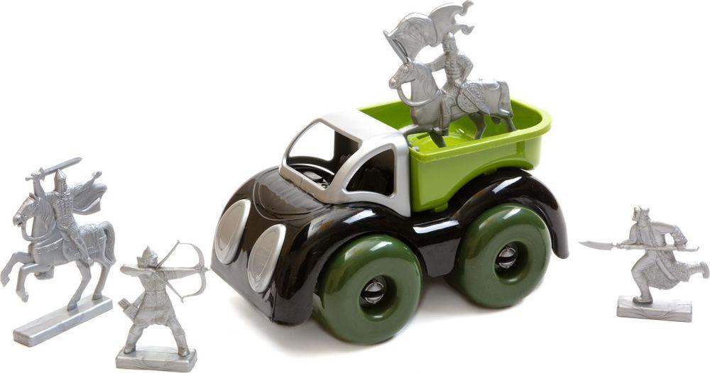 Пластмастер Игровой набор Машина с воинами пластмастер игровой набор фикси плотник