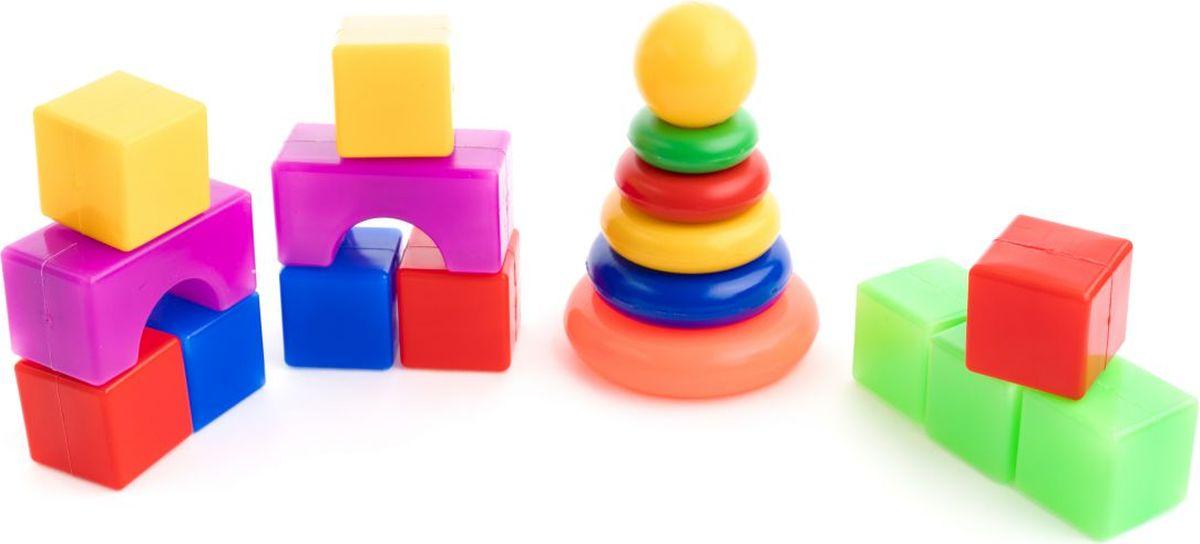 Пластмастер Набор кубиков Расти малыш 4х4 см игровой набор village story  малыш мышонок с кроваткой