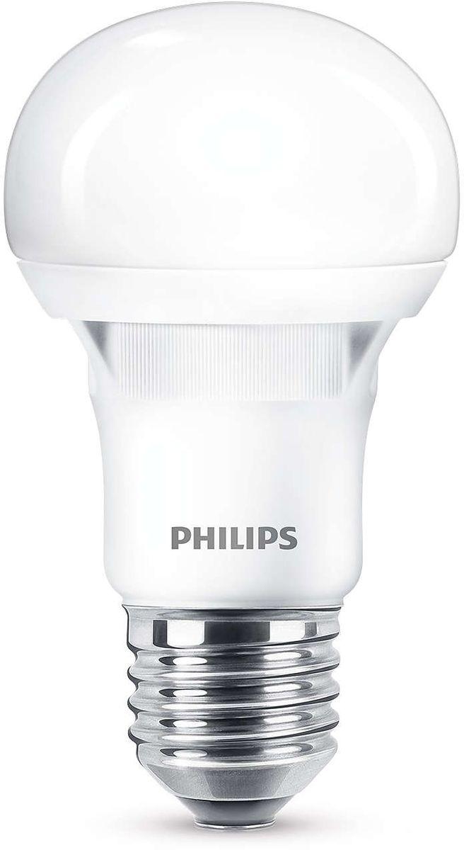 Лампа светодиодная Philips Essential LEDBulb, цвет: матовый, цоколь E27, 12W, 6500K philips инструкция