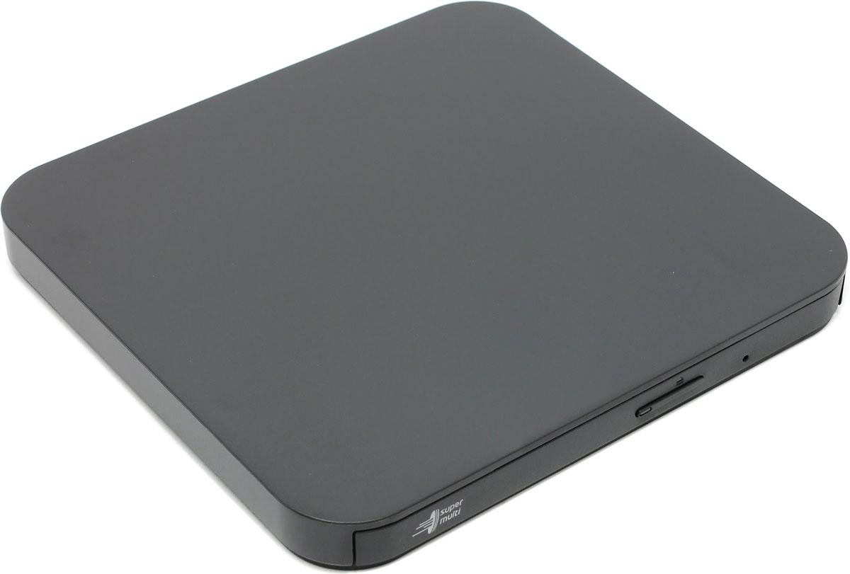 LG GP95NB70, Black внешний привод ODDGP95NB70Внешний оптический привод LG GP95NB70 предназначен для воспроизведения DVD и CD на устройствах с операционной системой Android. К смартфону и планшету он подключается через разъём USB 2.0.Привод легко подключается с помощью USB-кабеля и OTG-переходника. Устройство начинает его распознавать после установки приложения Disk Link Pro, которое можно бесплатно скачать в Google Play.