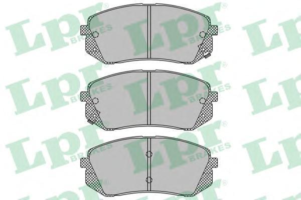 LPR / AP Колодки тормозные передние. 05P141505P1415