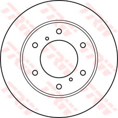 Диск тормозной к-т TRW/Lucas DF4920 комплект 2 штDF4920