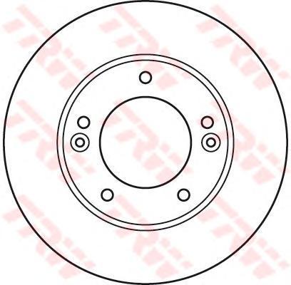Диск тормозной TRW/Lucas DF6081SDF6081S