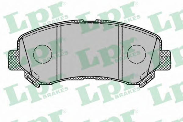 Колодки тормозные LPR / AP 05P131405P1314