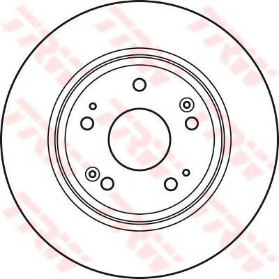 Диск тормозной TRW/Lucas DF4982 комплект 2 штDF4982