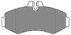 Колодки тормозные передние Mapco 65226522