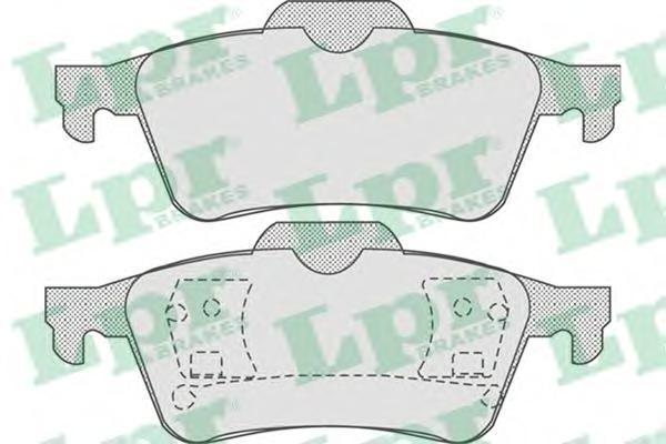 Колодки тормозные LPR / AP 05P81505P815
