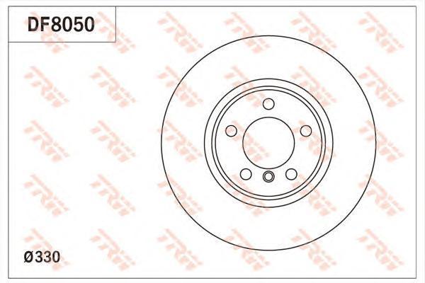 TRW / Lucas Диск тормозной. DF8050 алкатель 8050