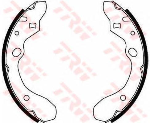 Колодки тормозные барабанные TRW/Lucas GS8582GS8582