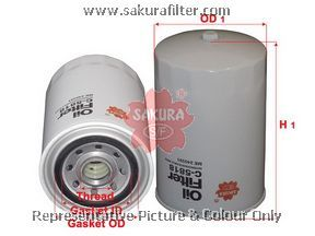 Фильтр масляный Sakura. C5818C5818