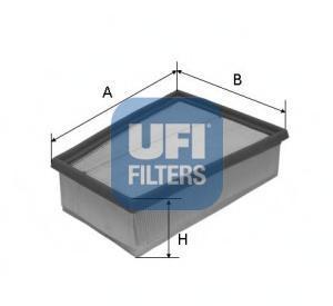 Фильтр воздушный UFI 30407003040700