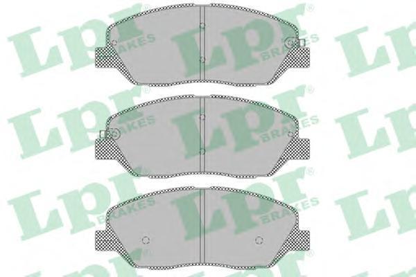 Колодки тормозные передние LPR / AP 05P138205P1382