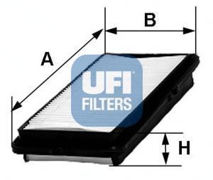 Фильтр воздушный UFI 30347003034700