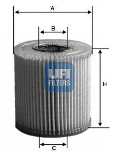 Фильтр масляный UFI. 25039002503900