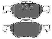 Колодки тормозные передние Mapco 66726672