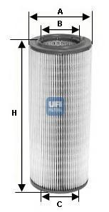 Фильтр воздушный UFI 27366002736600