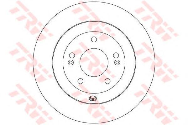 Диск тормозной задний TRW/Lucas DF7996DF7996