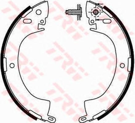 Колодки тормозные барабанные TRW/Lucas GS8185GS8185