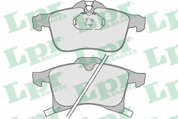 Колодки тормозные передниеLPR / AP 05P119705P1197