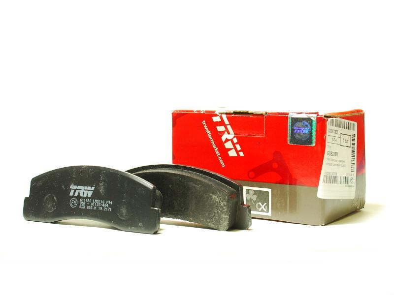 Колодки тормозные TRW/Lucas GDB265M