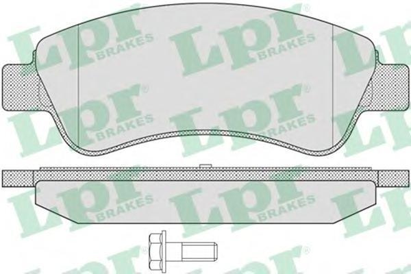 Колодки тормозные LPR / AP 05P80205P802