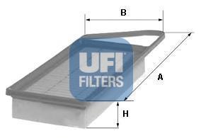 Фильтр воздушный UFI 30153003015300