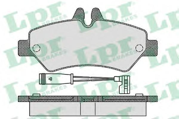 Колодки тормозные задний LPR / AP 05P129305P1293