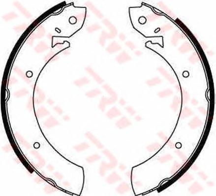 Колодки тормозные барабанные TRW/Lucas GS6181GS6181