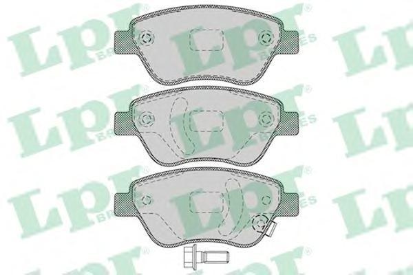 Колодки тормозные LPR / AP 05P124705P1247