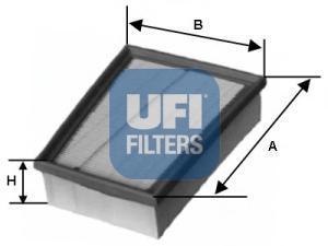 Фильтр воздушный UFI 30147003014700