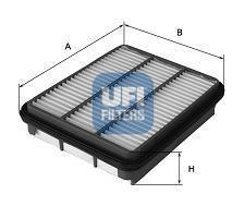 Фильтр воздушный UFI 30454003045400