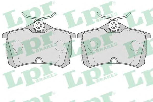 Колодки тормозные LPR / AP 05P103705P1037