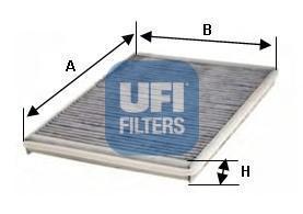 Фильтр салона (комплект) UFI 54127005412700