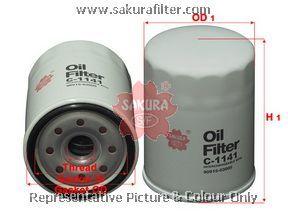 Фильтр масляный Sakura C1141C1141