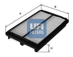 Фильтр воздушный UFI 30223003022300