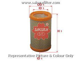 Фильтр воздушный Sakura A2527A2527