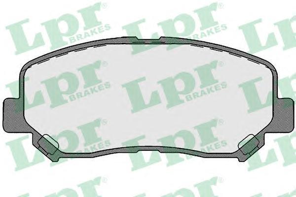 Колодки тормозные передние LPR / AP 05P174805P1748