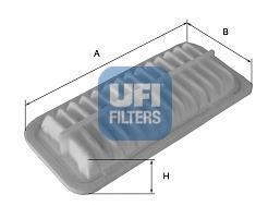 Фильтр воздушный UFI 30289003028900
