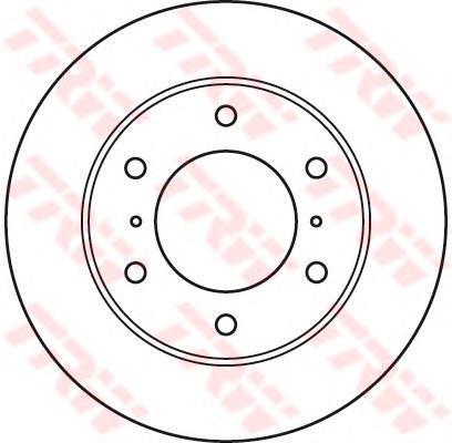 Диск тормозной к-т TRW/Lucas DF4870 комплект 2 штDF4870