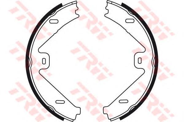 Колодки тормозные барабанные TRW/Lucas GS8755GS8755
