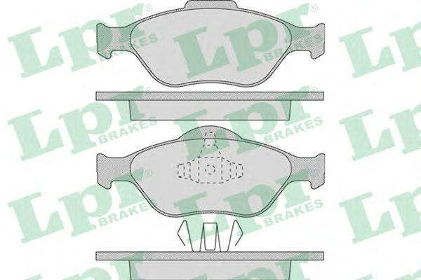 Колодки тормозные LPR / AP 05P94905P949