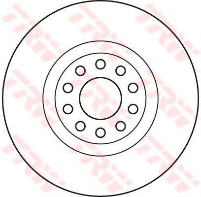 Диск тормозной TRW/Lucas DF6060SDF6060S