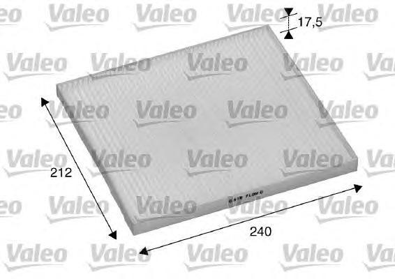 Фильтр салона Valeo 698895