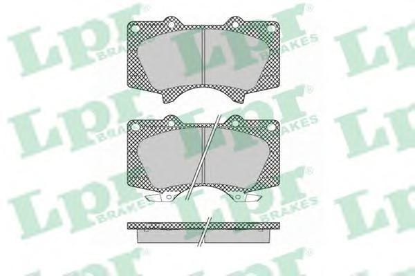 Колодки тормозные передниеLPR / AP 05P137905P1379