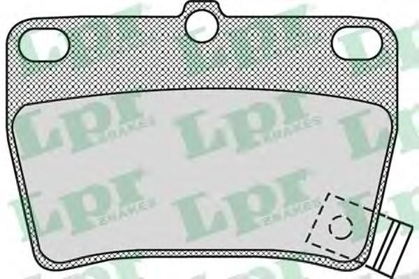 Колодки тормозные LPR / AP 05P99705P997