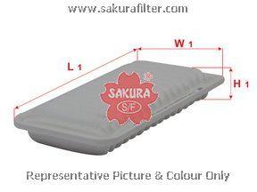 Фильтр воздушный Sakura. A1180A1180
