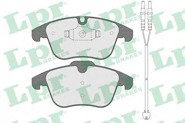 Колодки тормозные передние LPR / AP 05P1486A05P1486A