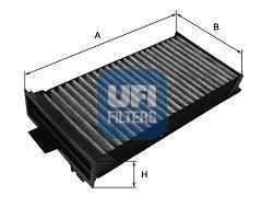 Фильтр салона (комплект) UFI 5412500 комплект 2 шт5412500