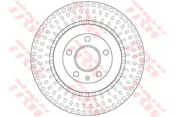 Диск тормозной задний вентилируемыйD=330мм TRW/Lucas DF6175SDF6175S